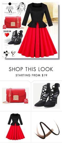 """""""SheIn XXXVI/6"""" by s-o-polyvore ❤ liked on Polyvore featuring H&M and Burberry"""