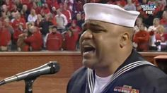 Just Try Not to Get Chills During Navy Petty Officer's World Series Rendition of 'God Bless America'