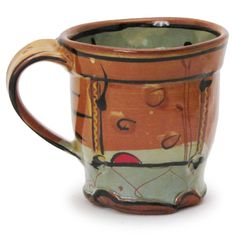 Shop: Mug - The Clay Studio    reminds me of friends and the coffee shop