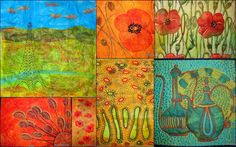 Musings of a textile itinerant: WORKSHOPS DIJANNE CEVAAL