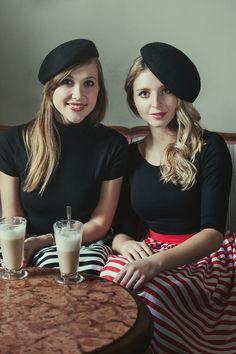 Bamboo Marta & Luisa. Elegant t-shirts made from bamboo fabric.