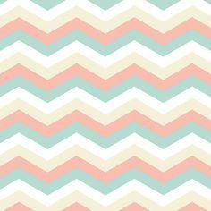 Quadro - Chevron Color Pastel - Decohouse