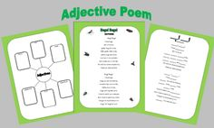 Poetry Month Freebie Poetry Unit, Writing Poetry, Teaching Poetry, Teaching Writing, Classroom Language, Teaching Language Arts, Poetry For Kids, 3rd Grade Writing, Classroom Freebies