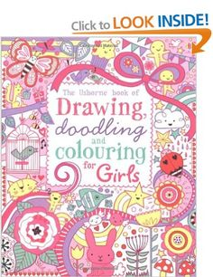 Drawing, Doodling and Colouring: Girls Usborne Drawing, Doodling and Colouring: Amazon.co.uk: Lucy Bowman, Erica Harrison: Books. From £5.94