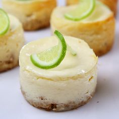 margarita lime cheesecakes. need an excuse for a party so i can make these. and then drink all of the tequila.