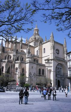 Segovia Cathedral,  Segovia, Spain Copyright: Serghei Pakhomoff