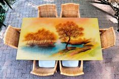 Table Decals – Landscape 2