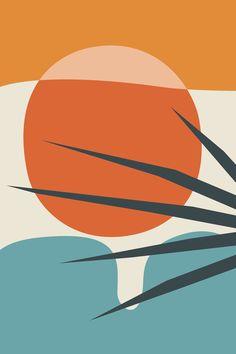 Abstract Print sunset wall art Orange And yellow Modern Art Apartment Decor Living Room Wall Art Large Print Warm Colour framed art Modern Art Prints, Wall Art Prints, Fine Art Prints, Abstract Wall Art, Abstract Print, Modern Abstract Art, Art And Illustration, Illustrations, Fantasy Kunst