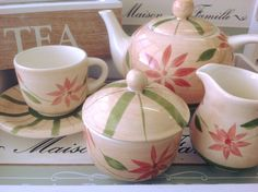 Lovely ceramic tea set!