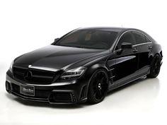 2012 Wald Mercedes-Benz CLS AMG Black Bison