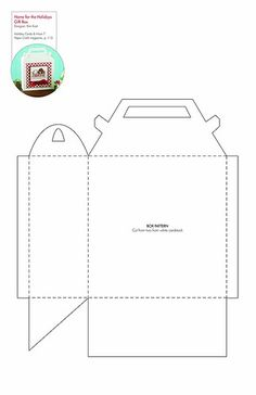 Shopping bag blueprint google search boxes pinterest schachtel home for the holidays gift box patterntemplate malvernweather Choice Image