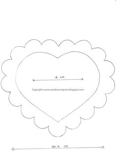 Patroon+Scalloped+heart+easelkaart+(2).jpg (1131×1600)