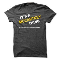 Its A Mccartney Thing-rebok - #gift for teens #shirt outfit. SAVE => https://www.sunfrog.com/Names/Its-A-Mccartney-Thing-rebok.html?id=60505