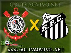 Assistir Corinthians x Santos ao vivo 16h00 Brasileirão 2013 | GOL TV AO VIVO