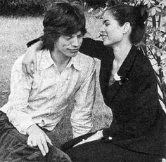 Mick Jagger - Mick and Bianca Jagger