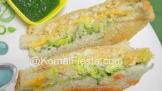 Chicken Keema Club sandwich