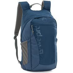 Väskor - Ryggsäck LowePro Photo hatchback AW 22L Blå