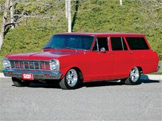 1965 Chevy Nova Station Wagon with a 502 crate engine.