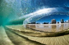 Underwater wave photo by Australian surf photographer Ray Collins
