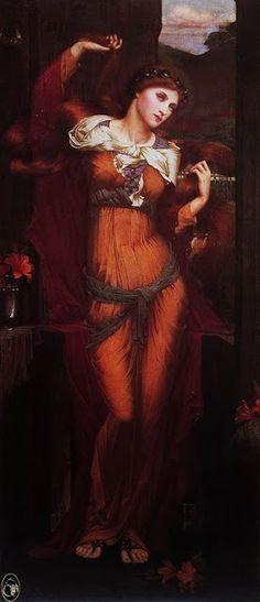 Pre Raphaelite Art: John Roddam Spencer Stanhope, Morgan Le Fay