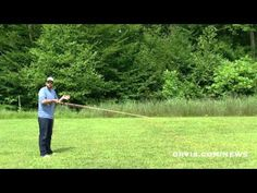 How to Fly Fish: Shooting Line at the End of a Cast - YouTube