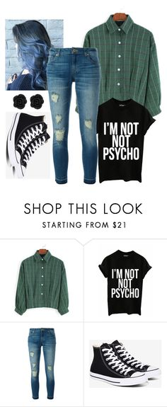 """""""My style idk"""" by brooke-langerud ❤ liked on Polyvore featuring MICHAEL Michael Kors and Converse"""