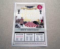 Oh So Beautiful Paper: Joanna + Martin's Music-Inspired Book Wedding Invitations