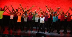 Students at the Harlem School of the Arts performing FLAUNTING FIERCELY at the Bessie Awards, held this year at the Apollo Theater.