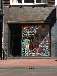 Sissy-Boy hand-painted shop window // SPRING photo by Studio Sjoesjoe
