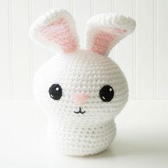 Adorblings™ Lil' Bunny Crochet Amigurumi Pattern, 8 inch