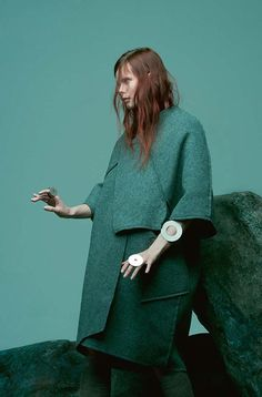 Irina Kravchenko by Paul Jung for Bon Magazine, Autumn/Winter...