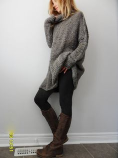 Begrenzte hinaus. Slouchy/Bulky/Oversized Pullover. Chunky