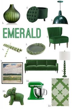 For the Love of Color: Emerald