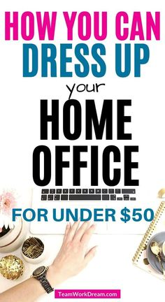 Dress up your home office with some of the best home office desk accessories to inspire your work at home space. Unique, cute and fun home office desk ideas Best Home Office Desk, Home Desk, Home Office Space, Cool Desk Accessories, Home Office Accessories, Online Work From Home, Work From Home Tips, Coding Jobs, Office Essentials