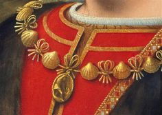 Charles d'Amboise wears the collar of the Order of St. Michael and the hat, a medallion