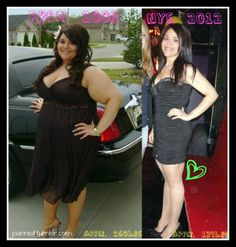 260 to 139 -- How she lost 12 dress sizes in 5 months.