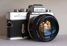 https://flic.kr/p/8zLnYG   Minolta SRT 58mm 1:1.2   Favourite camera lens combo