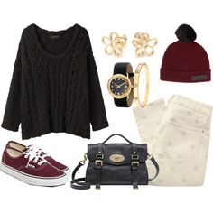 3289f5205f Fall outfit with maroon vans. Maroon Shoes OutfitOutfits ...