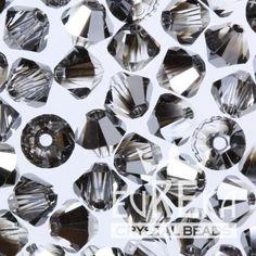 Eureka Crystal Beads - CRYSTAL SILVER NIGHT
