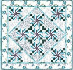 Snowmen are often made as part of a family project in celebration of winter. Here are some *free* snowman and snowflake quilt patterns and t. Quilting Projects, Quilting Designs, Quilting Ideas, Quilting Board, Sewing Projects, Snowflake Quilt, Snowflakes, Table Topper Patterns, Table Toppers