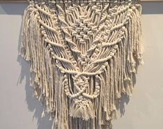 Macrame Wall Hanging in Natural (Medium)