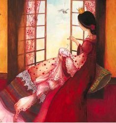 Illustration of Gabrielle Grimard