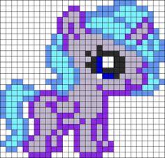 Baby Princess Luna MLP Hama Perler Bead Pattern
