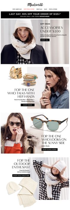 Madewell : Accessories + Lifestyle