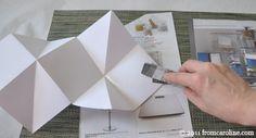 accordion book/card tutorial