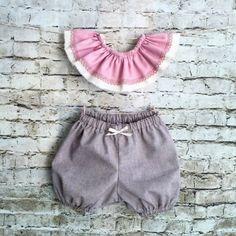Kokoro DUO Baby set by Kokoro Kotone Organic Baby Clothing www.kokorokotone.com