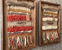 Artículos similares a Woven wall hanging en Etsy Weaving Projects, Weaving Art, Tapestry Weaving, Loom Weaving, Circular Weaving, Yarn Wall Art, Creative Textiles, Woven Wall Hanging, Weaving Techniques