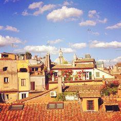 Rome rooftops. Photo by moscerina.