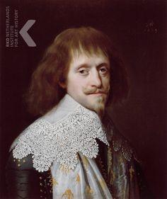 Paulus Moreelse, Portrait of an unknown man - 1634