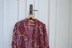 Pink Cashmere Kimono